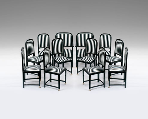 Gottfried Bohumir Cermak chairs H09.29