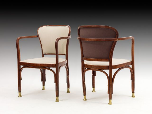 Gustav Siegel arm chairs kl